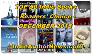 TOP 50 Indie Books - Readers Choice - December 2015